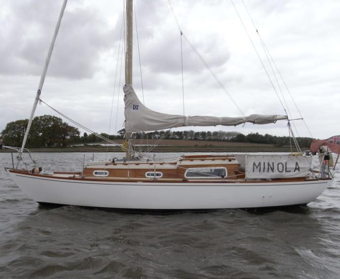 Holman 26 sloop