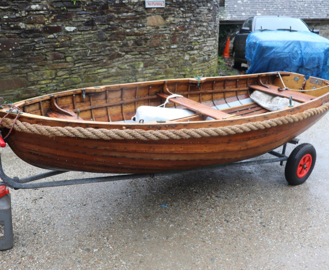 Purbrook 10 Clinker sailing dinghy