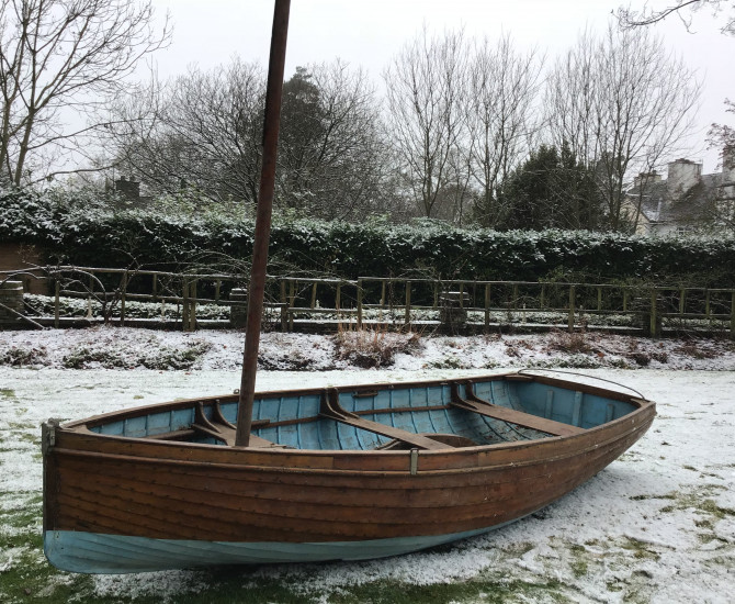 Solway Class Sailing Dinghy
