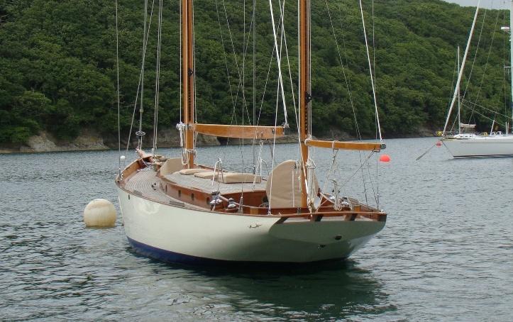 55' John Alden Yawl - Wooden Ships
