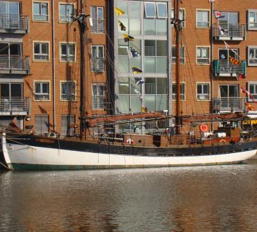 Baltic Trader Gaff Ketch Classic Yacht