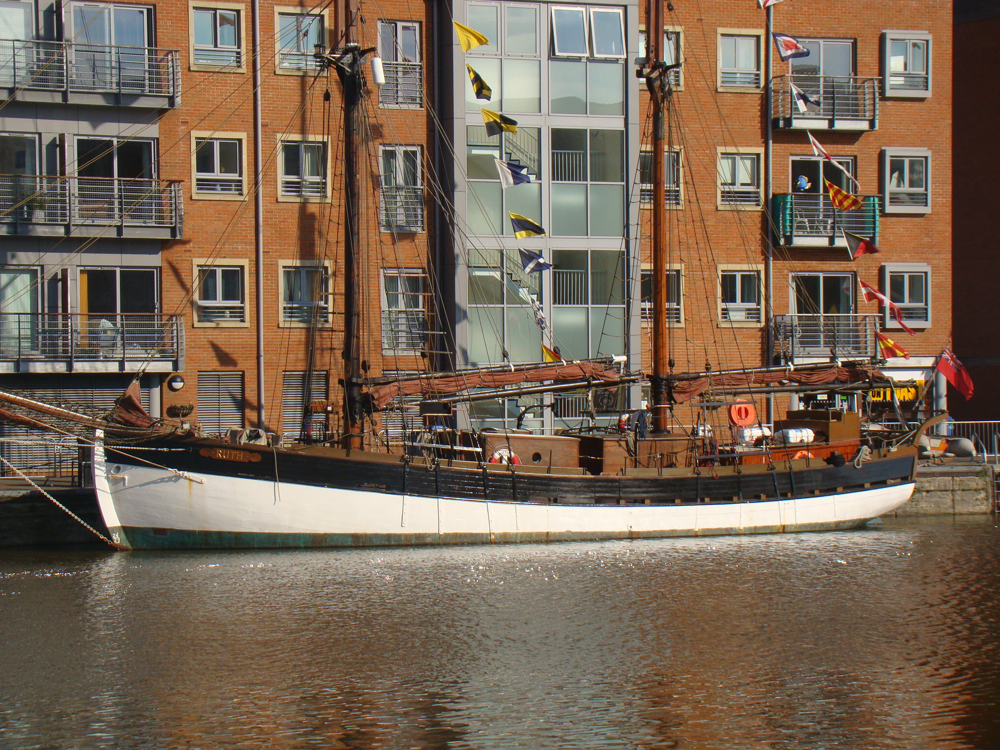 Baltic Trader Gaff Ketch - Wooden Ships