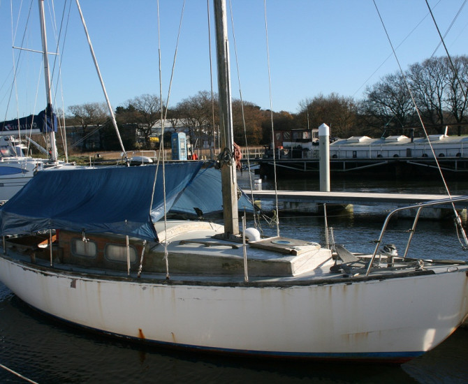 Alan Buchanan Bermudan Sloop