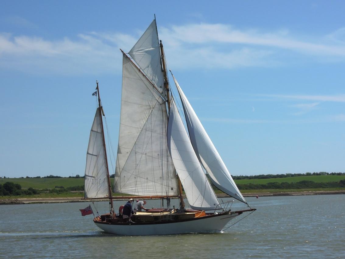 Buchanan Gaff yawl - Wooden Ships
