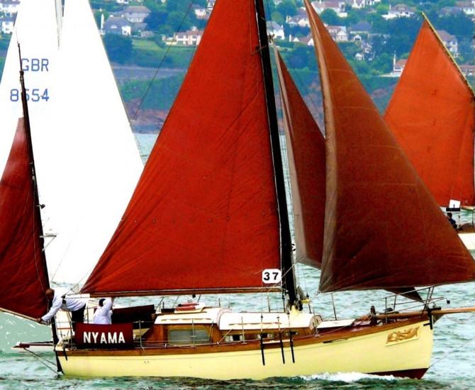 Percy Mitchell Bermudan Yawl