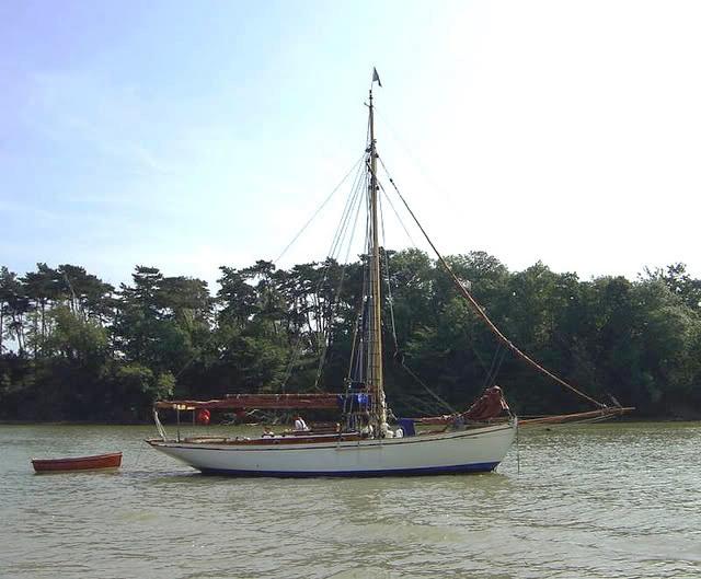 37′ Gaff Cutter yacht