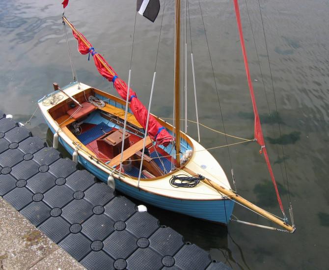 Bermudan cutter classic Dayboat