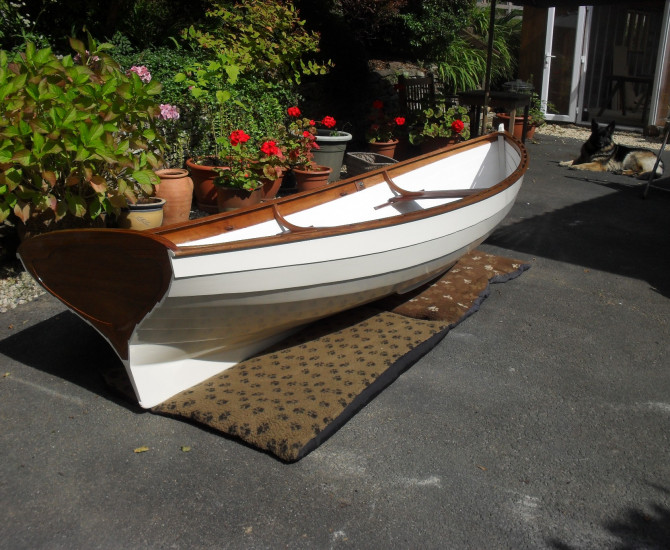 Ian Oughtred Acorn rowing skiff