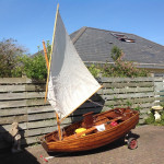 Lug sail pram dinghy