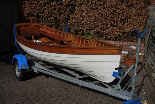 Ian Oughtred Tammie Norrie sailing dinghy