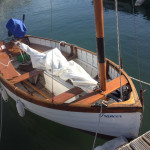 Findhorn Fairey sailing dinghy