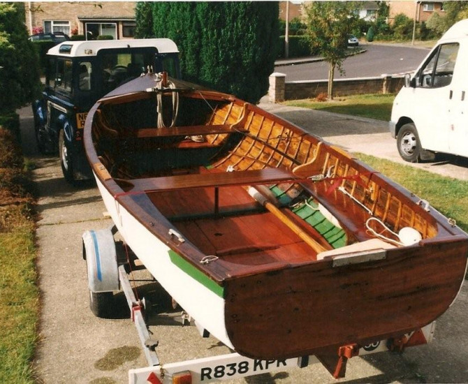 16′ rowing boat