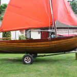 12′ traditional sailing dinghy