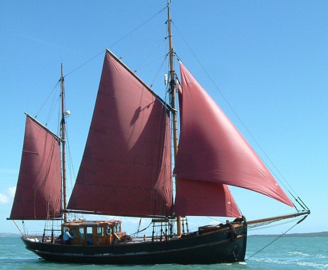 59′ Danish gaff ketch