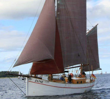 Danish gaff ketch