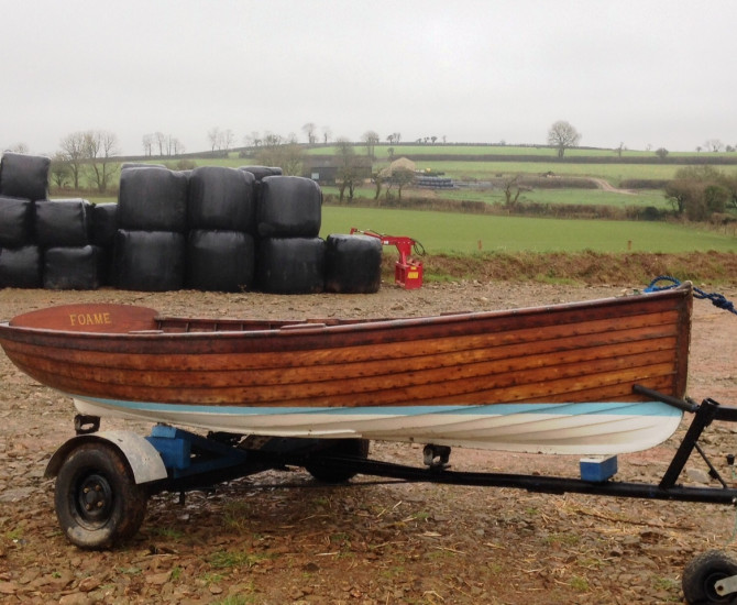 12′ Harry Sealey rowing dinghy