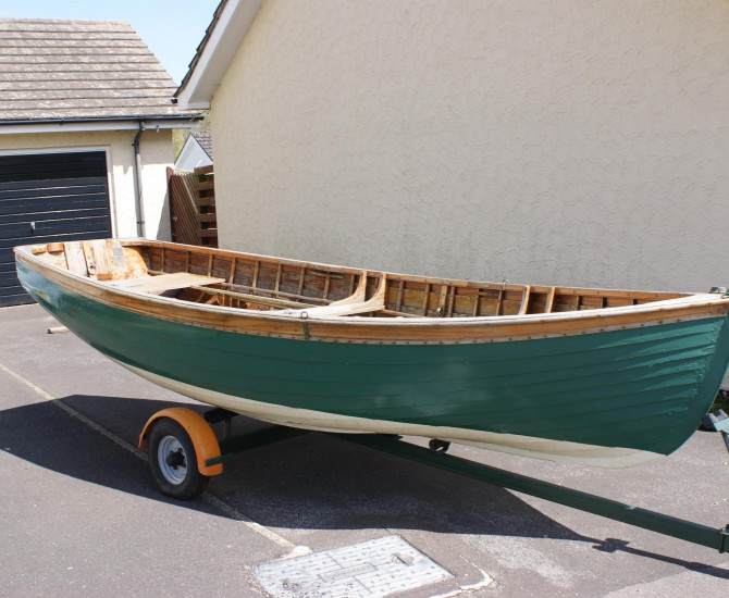 Gunter Sailing Dinghy