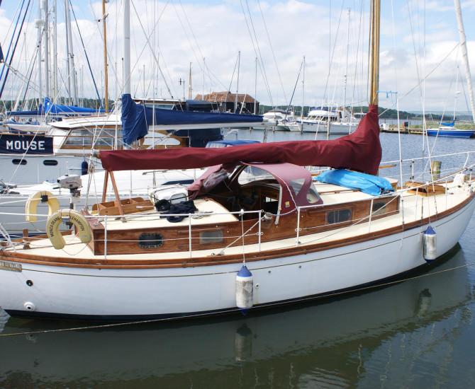 12 ton Hillyard Bermudan Sloop