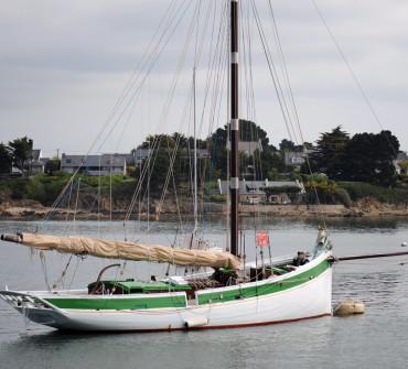 Breton Gaff Cutter Classic Yacht