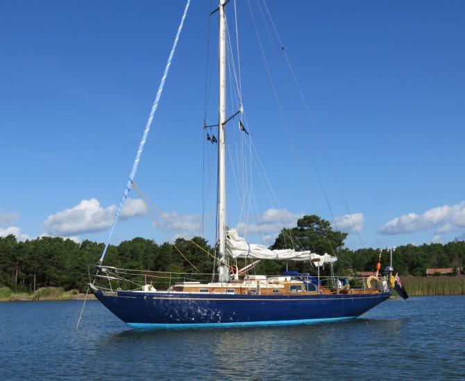 Buchanan Admirals Cup Yacht