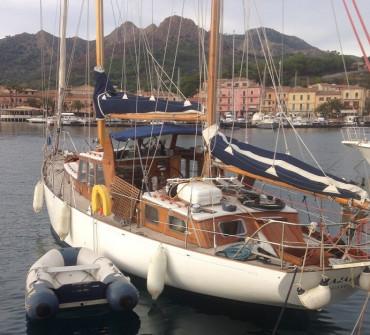 Fred Parker Bermudan Ketch Classic Yacht