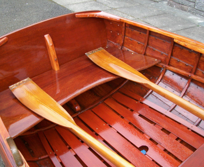 Silver's Rowing Dinghy