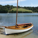 McNulty gaff sloop dinghy