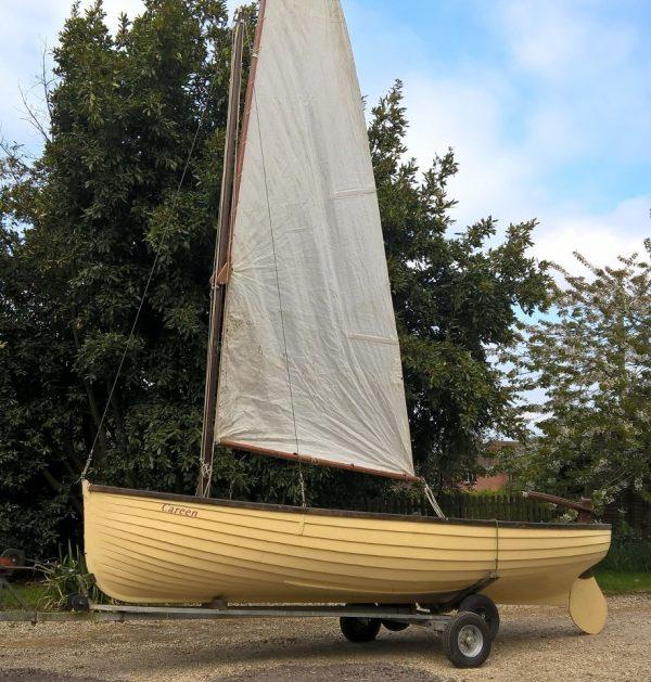 Hillyard sailing dinghy