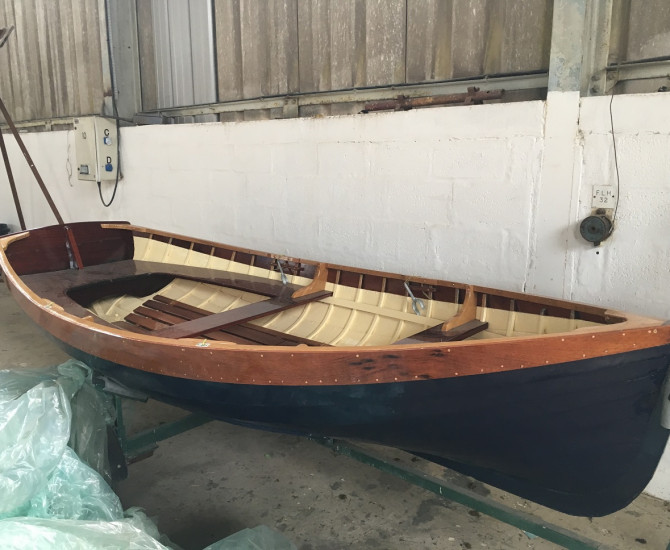 Fifes rowing dinghy