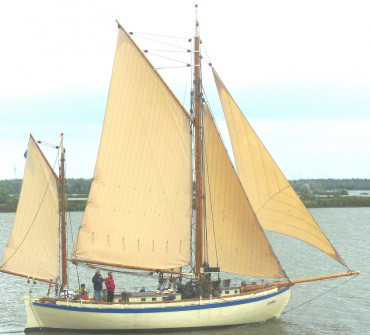 Colin Archer Gaff Ketch Classic Yacht