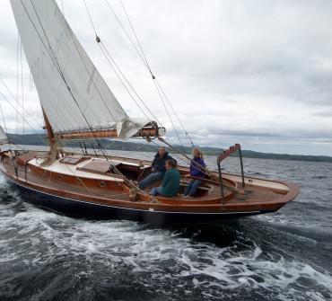 Starling Burgess Bermudan cutter Classic Yacht