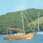 Gaff cutter day boat