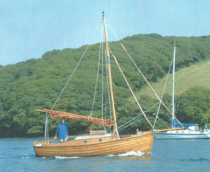 Gaff cutter day boat