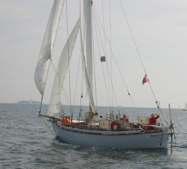 Colin Archer bermudan cutter Classic Yacht