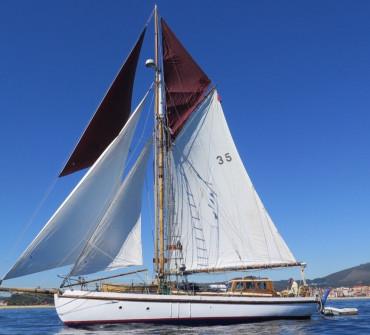 Nicholson Gaff Cutter Classic Yacht