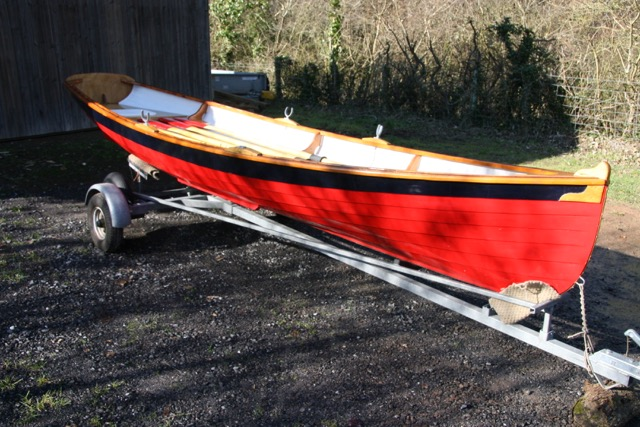 Acorn 15 rowing boat
