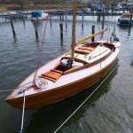 Varnished Nordic Folkboat
