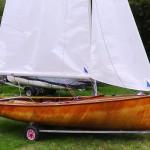 Uffa Fox Swordfish sailing dinghy