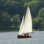 Yachting World 15 sailing dinghy