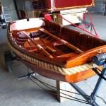 Pram sailing dinghy