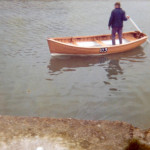 Salmon Netting Rowing Boat