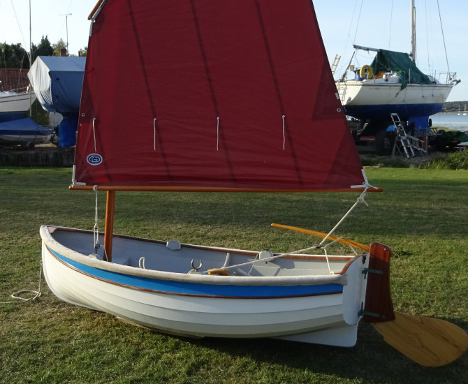 Iain Oughtred Auk Sailing Dinghy