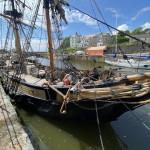 Brig Rigged Sailing Ship
