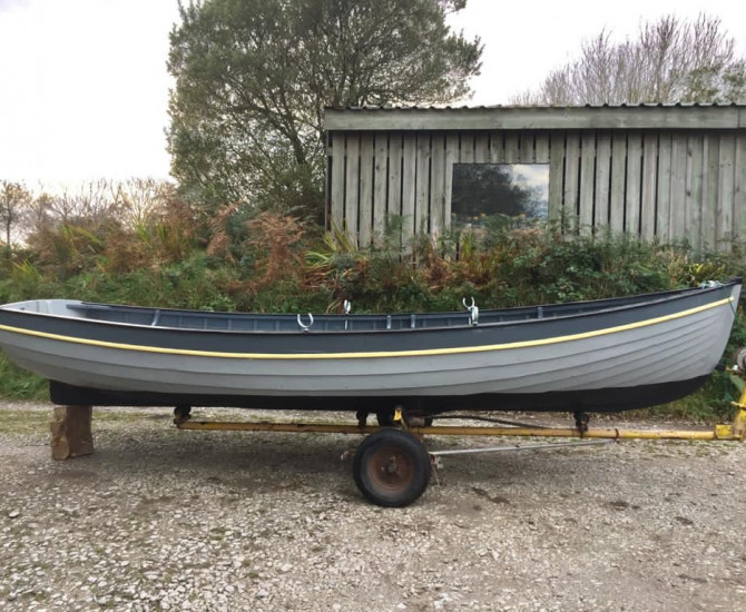 14′ Clinker Rowing Dinghy