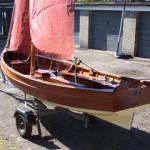 Wootton Bridge Sailing dinghy